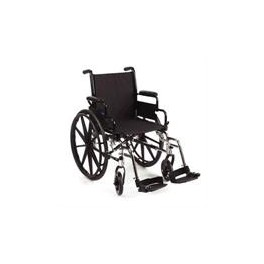 """WHEEL CHAIR 18"""" WIDE WITH FOOT REST"""
