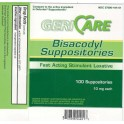 BISACODYL SUPPOSITORIES