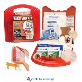 10-Person OSHA First Aid Kit - 75 Pieces